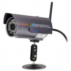Wanscam JW0006 Outdoor Waterproof PNP 300KP IP Camera w/ 36-IR LED - Purple