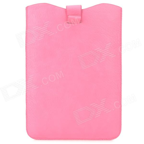 "Protective Soft PU Leather Pouch Bag for 8"" Tablet PC - Pink"