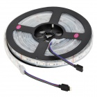 60W 4200lm 300-5050 SMD LED RVB Décoration flexible Stripe Lampe w / 24-Key Controller (5m / 100 ~ 240V)