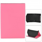 "Stylish PU Leather Magnetic Closure Case for 7.85"" Tablet PC - Pink"