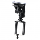 Universal Car Mount Holder w/ Suction Cup for Iphone / Samsung / HTC - Black