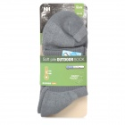Naturehike Outdoor Hiking Thickening Coolmax + Cotton + Polyester Socks for Men - Grey (Pair)