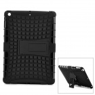 2-in-1 Protective TPU + PC Back Case w/ Stand for Ipad AIR - Black