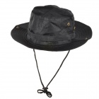 Casual Hat Cotton Outdoor Sports Camping Pesca - Black