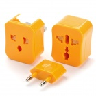 Universal Power Plug Travel Adapter - Orange (AC 100~250V)