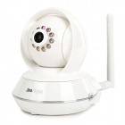 SeraDidital M8808 1.0MP CMOS Wireless Network IP Camera w/ 10-IR LED Night Vision - White