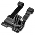 Plastic + Zinc Alloy Bike Holder + Mount for Digital Cameras - Black