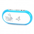 SK-12 Portable Multifunction MP3 Player Speaker w/ FM / TF / USB / AUX - White + Blue