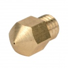 Makerbot 0.4mm Brass Nozzle for 3D Printer - Golden