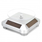 Miniisw BD-S Solar Powered 360 Degree Rotary Display Base - Silver
