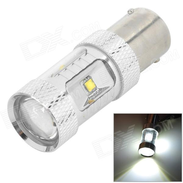 1156 30W 650lm White Light Car Brake / Turn Signal / Reversing Lamp w/ Cree XB-D 6-LED (9~24V)