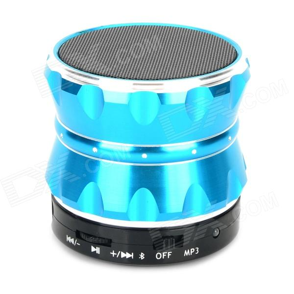 S14 Wireless Bluetooth V3.0 Portable Handsfree Speaker w/ TF Card Slot - Blue + Black original xiaomi mi bluetooth speaker wireless stereo mini portable mp3 player pocket audio support handsfree tf card