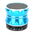S14 Wireless Bluetooth V3.0 Portable Handsfree Speaker w/ TF Card Slot - Blue + Black