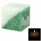 Fragrance Releasing Green Apple Scent Plant Wax Candle