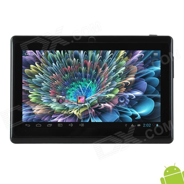 BENEVE S750 7 LCD Android 4.1.1 Tablet PC w/ 512MB RAM / 4GB ROM / G-Sensor / Bluetooth - Black languages for america