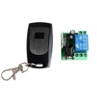 VGG09 12V One Channel Multifunction Wireless Remote Control  Switch System - Black