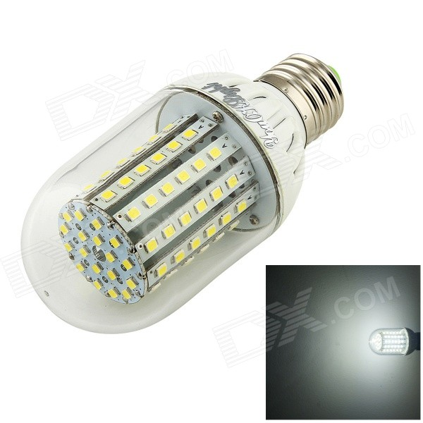 YouOkLight E27 5.5W 520lm 6500K 90-3528 SMD Cold White Light Corn Lamp
