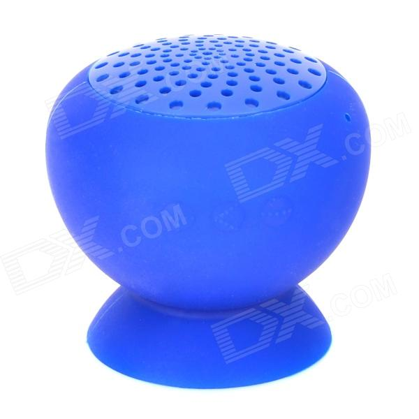 Suporte para ventosa mini bluetooth v2.1 speaker - deep blue