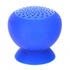 KTS-06B Suction Cup Mount Mini Bluetooth v2.1 Speaker - Deep Blue