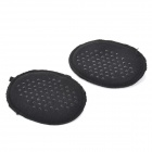Thicken Soft High Heels Shoes Anti-slip Half Sole Pads - Black (Pair)