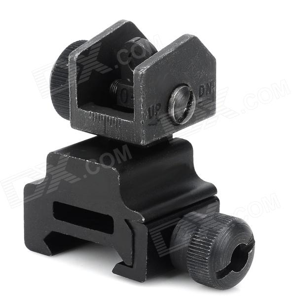 MNT951- KDP044 Aluminum Alloy Battle Sight Sighting Picatinny Weaver Rail for M16 / M4 Guns - Black 9 aluminum alloy extendable bipod w mount for ak m40 guns more black