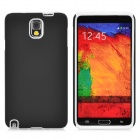 2-in-1 Protective Silicone + PC Back Case for Samsung Note 3 - Black + White