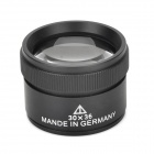 ZW Professional 30 x 36mm Jewelry Magnifying Glass - Black