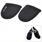 NUCKILY Thicken Neoprene Windproof Shoe Quente Front Covers - Black (2 PCS)
