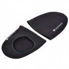 NUCKILY Thicken Neoprene Windproof Warm Shoe Front Covers - Black (2 PCS)