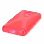 "Stylish ""X"" Pattern Silicone + Plastic Protective Back Case for Nokia 620"