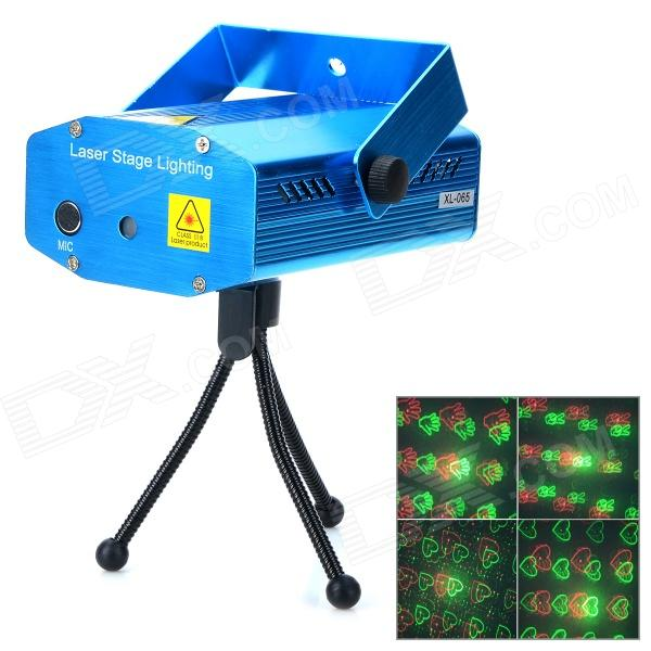 XL-S-D09 Mini Sound Control Red + Green Laser Stage Light w/ Tripod - Blue  sc 1 st  DealeXtreme : laser stage lighting - azcodes.com