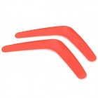 Sport Playing ABS V-Shaped Flying Disks for Kids - Red (2 PCS)