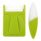 "POTENT PG-1309 Zirconia + ABS Ceramic 1.5"" Knife + Peeler Set - Green + White"