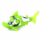 3333-1 Creative Realistic Waterproof Electric Plastic + Silicone Fish Toy - Green + White (2 x LR44)