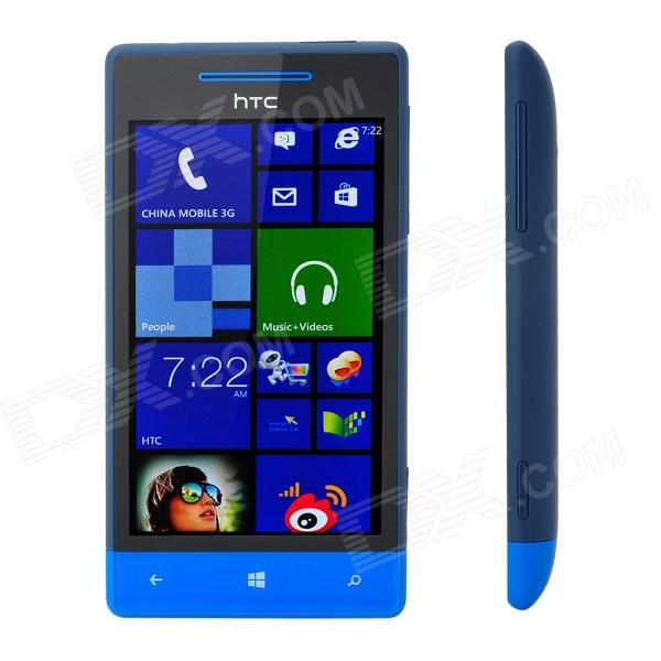 "HTC Windows Phone 8S A620e Dual-Core WCDMA teléfono w / 4.0 ""capacitiva Wi-Fi y GPS - Negro + azul"