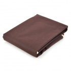 Thickened Folding Non-Woven Fabric Suit Cover - Coffee