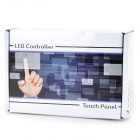 Luz de 96W / poder Control 1-CH LED Touch Panel control solo Color lámpara Bar - negro