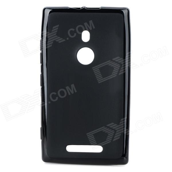 Protective TPU Case for Nokia 925 - Black protective tpu case for nokia 925 black