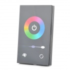 288W Light / Color Control 3-CH LED Touch Panel Controller for RGB Lamp Bar - Black