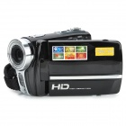 "RICH HDV-591 3.0"" TFT 5.0MP CMOS Mini Digital Zooming Video Camera w/ SD / Mini USB - Black"