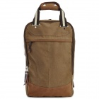 MLF 1220 Casual Canvas Backpack / Handbag for Men - Khaki