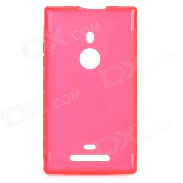 X Shape Protective TPU Back Case for Nokia Lumia 925 - Red protective tpu case for nokia 925 black