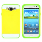 NX CASE Protective Silicone Back Case for Samsung S3 i9300 - Yellow + Green