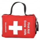 Maleroads MLS2178 Outdoor Emergency First Aid Nylon Bag - Red