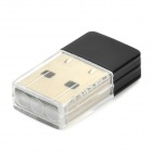 USB-2.0 Mini 150Mbps WiFi Wireless LAN Adapter - Silver + Black