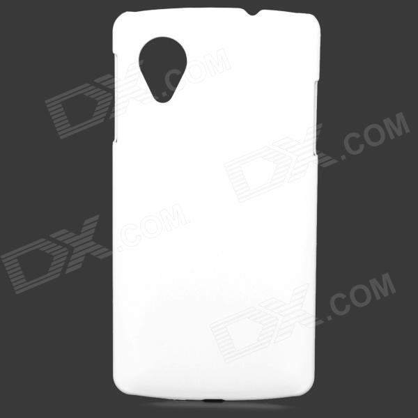 Protective Hard Plastic Back Case for Google Nexus 5 - White цена 2017