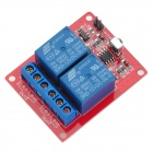 12V 2-CH Wireless Infrared Relay Module + IR Remote Controller for Arduino