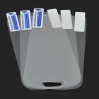 Protective Matte Frosted Screen Protector for Samsung Galaxy S3 Mini i8190 - Transparent (3 PCS)