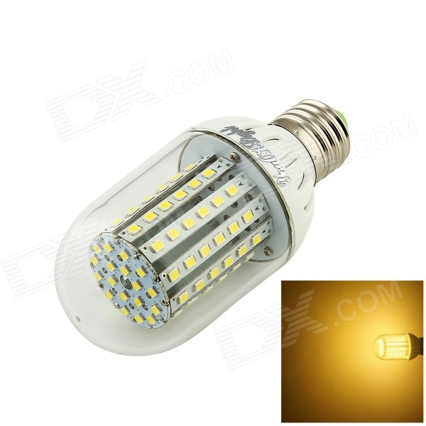 YouOkLight E27 5.5W 500lm 3500K 90-3528 SMD LED Warm White Corn Lamp (AC 100~250V)