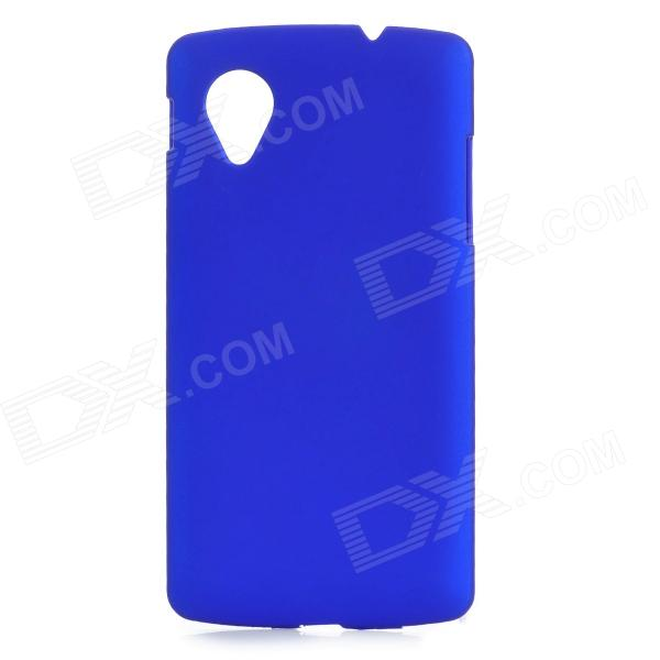 Protective PC resina Back Case for LG E405F / Google N5 / Google Nexus 5 - Deep Blue